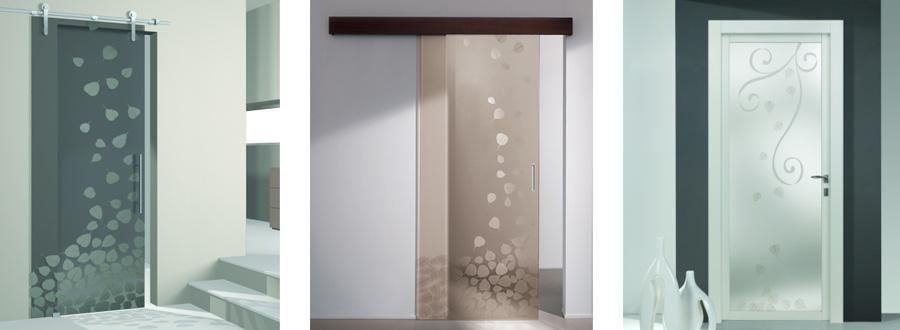 Porte in legno e vetro porte in legno e vetro calenzano for Porte d arredo in vetro